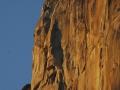 El Capitan lovi zadnje žarke tega dne