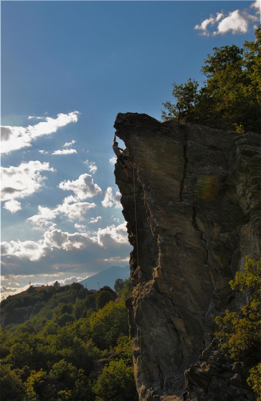 Odlična plezališča v Aosti ...