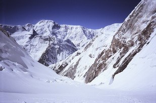 Pobeda peak (7439 m)