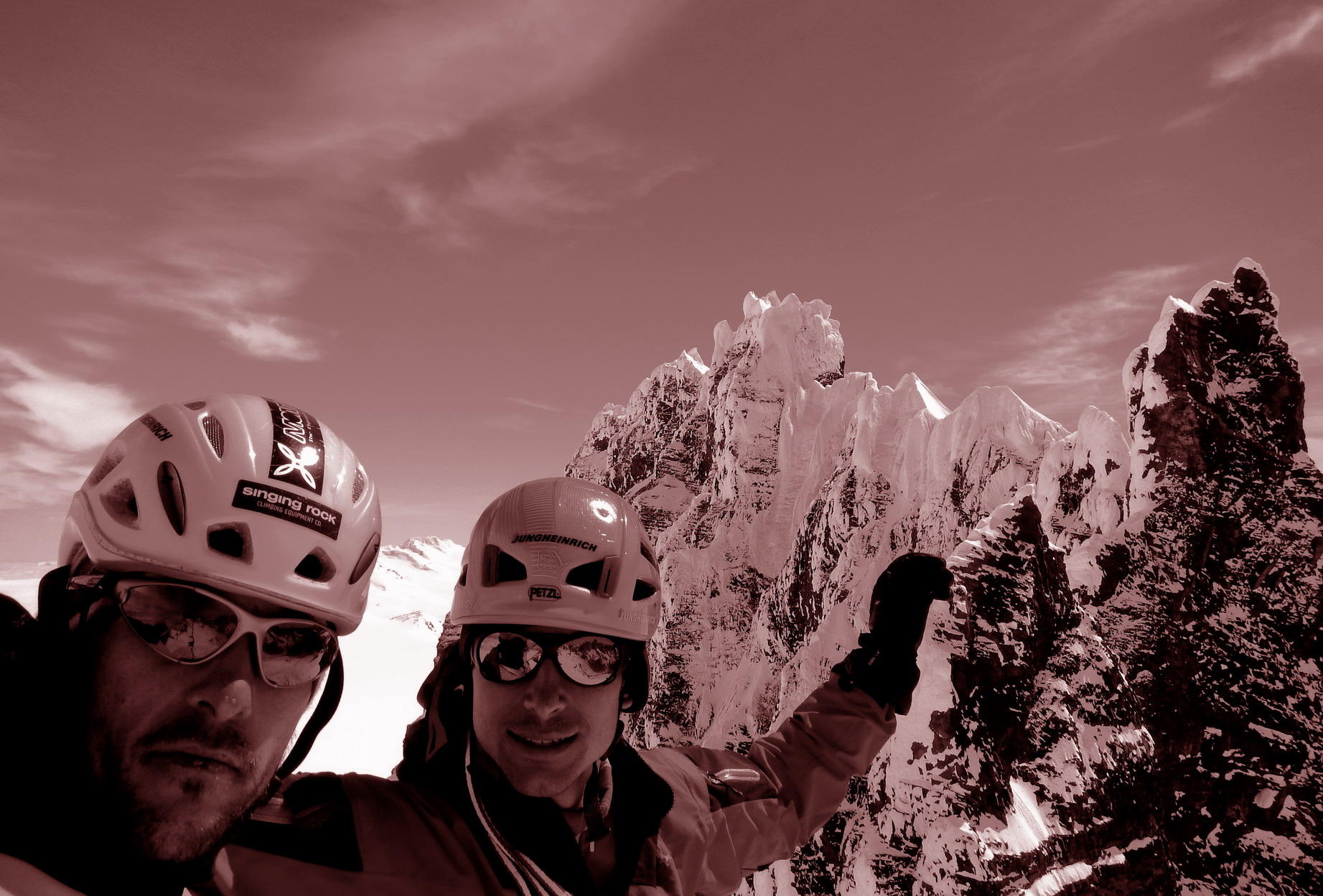 na vrhu Cerro Dumbota